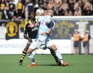 Robin Nilsson och hans Gefle spelade 1–1 borta mot AIK. Ett viktigt och bra resultat då den här försäsongen annars inte har varit särskilt bra. Simon Skrabb var målskytt för GIF med ett riktigt läckert avslut.