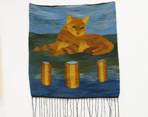 Ett, två eller tre? Katt i valsituation, av Annie Forslund.