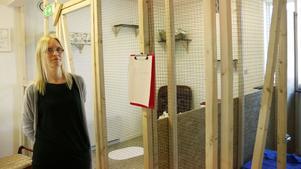 Jessica Sandin har nyligen startat Djurpensionatet Gävleborg.