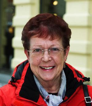 – Ja det är jag. Jag vill inte åka utomlands längre, jag tycker att det är ganska osäkert med alla de här oroligheterna.Kerstin Strand, 65 år, pensionär, Indal.