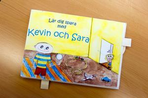 """Boken """"Lär dig spara med Kevin och Sara"""