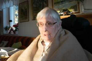 89-åriga Lisbeth Östman från Härnösand lobotomerades och tvångssteriliserades under sin tid på Sidsjöns sjukhus.