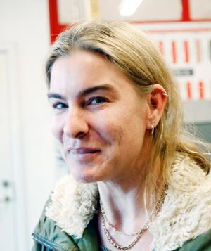 Fatima Forsberg, åkeriägare, 39 år, Gävle.– Jag är nöjd över att de ska sänka F-skatten.