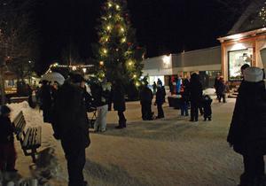 På fredagskvällen var det dags att dansa ut julen i Leksand