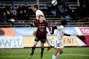 Förre KIK-spelaren Per Fyhr har tagit för sig allt mer under hösten. Fyhrs kvittering till 1–1 var hans fjärde seriemål.