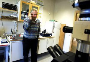 Hans Höglund, professor på Mittuniversitetets skogsindustriella forskningscentrum, har fått ett glädjande besked. Det är klart med finansieringen för tolv nya forskarstuderande inom mekanisk massa.
