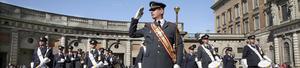 Bröllopsmarsch. Roger Bejefalk kommer att leda musikkåren när de spelar vid kronprinsessan Victorias bröllop. FOTO: LENNYE OSBECK