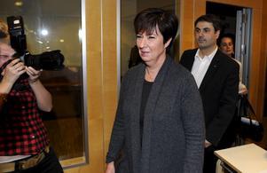 Dystert slut. Mona Sahlin avgår som partiledare för Socialdemokraterna efter en kaotisk vecka.