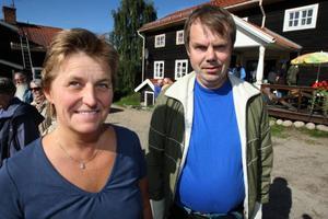 Maud Wedin och Maths Östberg var nöjda efter tre dagar.     Foto: Håkan Degselius
