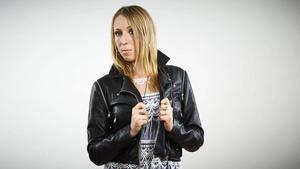 Louise Åslund tävlar med bidraget Cherry eye road