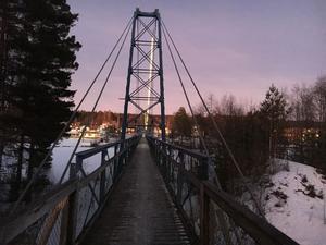 Saltviksbron har funnits på platsen sedan år 1927.