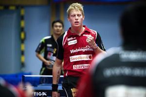 Hampus Nordberg fick ge sig i femte och avgörande set mot Jiang Changhong.