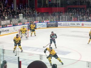 VIK tillbaka till Kristianstad Ishall. Bilden här är från kvalserien säsongen 16/17.