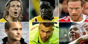 Hetast? Grahn, Osiako, Samuelsson, Jansson, Noring eller Santos.