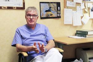Christer Siwertsson (M), oppositionsråd, gjorde ett studiebesök under en hel dag på hälsocentralen i Krokom.