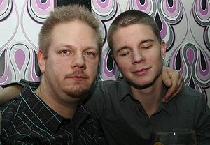 Konrad. Fredrik och Alexander