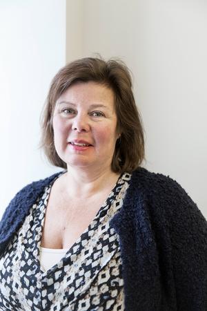 Anna-Maria Pettersson, enhetschef på Migrationsverket i Östersund. Arkivbild.