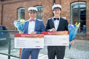 Nicolas Järvinen och Johannes Karlberg är årets Bygmastipendiater.