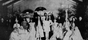 Stjärnögas dröm framfördes vid tuberkulosföreningens basar 1923.