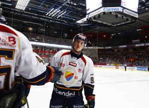 Daniel Bernhardt har tillhört Djurgården i fem säsonger. Nu är han klar för BIK Karlskoga.