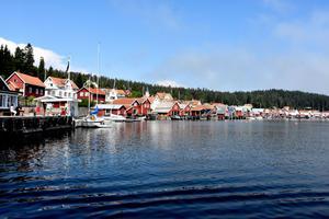 Ulvöhamn från båten Minerva.