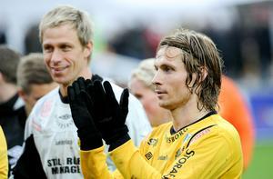 Mattias Asper och Tobias Grahn - i dag möts de.