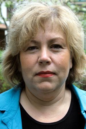 Madeleine Andersson, kommunchef i Askersunds kommun, samlades kommunledningen på söndagskvällen med anledning av branden.