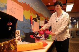 Agneta Sjöberg är en av de som jobbade med Kärleksveckan på Gudmundråskolan.