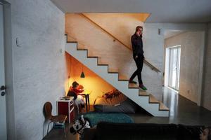 Fiamma Balzanetti har en alldeles speciell lekplats under trappan