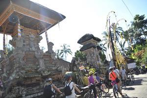 Sebatu-templet är ett av över tusen större tempel på Bali, Gudarnas ö.