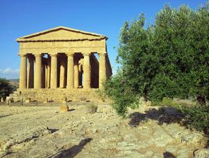 Hera-templet i Agrigento.