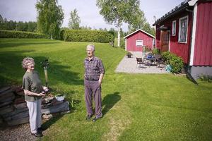 Maj-Britt och Åke Johannesson har botti Gubbhögen i drygt 50 år. Mycket har förändrats under de åren.