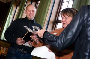 Verkstan'Peter Karlsson utsågs till Årets serviceföretag. Foto: Håkan Luthman