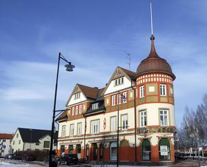 August Larsson-huset i Orsa.
