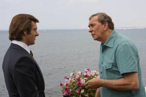 David möter Goliat i Ron Howards filmatisering av tv-profilen David Frosts intervju med den avgående amerikanske presidenten Richard Nixon.