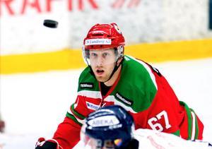 Mora IK:s lagkapten Tobias Ericsson är född och uppvuxen i Stockholm eller närmare bestämt i Vallentuna. I kväll gör han sitt första återbesök i Hovet när hans Mora möter Djurgården.