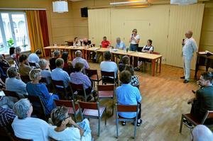Nu är det Hällefors som står på tur för kultursamtal. Kulturmöten har redan skett i Lindesberg, Ljusnarsberg och Nora. Bilden visar kulturmötet i Nora i augusti.