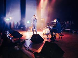 Marie Lalá på konserthusets stora scen. d294c63054c73