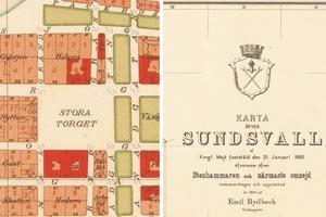 Stadsplanen från 1890 har återfunnits i länsstyrelsens arkiv, menar skribenten som skriver att man enligt den inte får bygga på Stora torget.