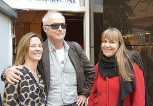 Eva Galyas Wallin, Täppas Fogelberg och moderatorn Kerstin Bergman samtalade kring ljudbokens växande plats i litteraturen.