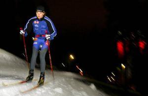 Sara Lindborg studerar idrottsvetenskap på halvfart och satsar på skidorna med maxfart.