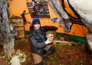 Det är länsstyrelsen i Jämtland som bekostar Lisas Perssons rovdjursprojekt.