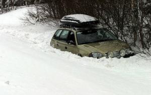 Två män från norra Sverige kan vara glada över att det snöat friskt i Härjedalen den här vintern.