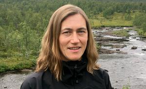 Karin Persson, dammingenjör på vattenkraftsjätten Statkraft.