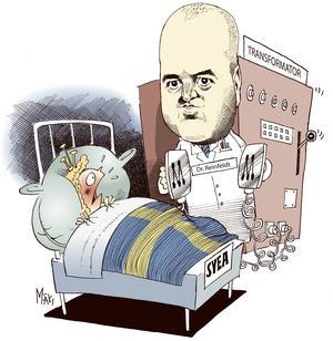 Fredrik Reinfeldt. År 2006 tillträdde dr Reinfeldt som överläkare i kungadömet Sverige.