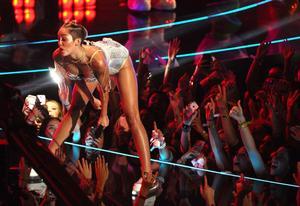 Miley Cyrus på MTV-galan.