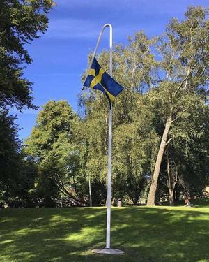 Mattias Norströms verk i Göteborg. Foto: Mattias Norström
