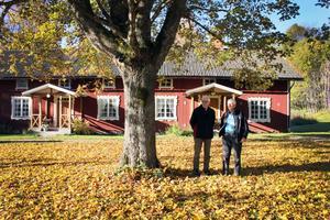 Veteraner. Olle Färnquist och Ulf Lindström har varit med i Skinnskattebergs hembygdsförening i mer än 30 år.