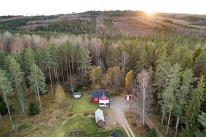 Denna villa på Repbäcksvägen i Borlänge kommun är med på Klicktoppen för vecka 44.