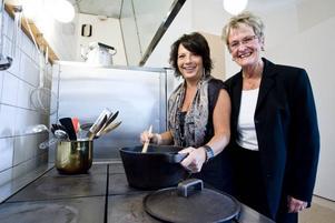 Älskar matlagning. Yasmin Mossberg, 51 år, tar över jobbet som husfru på Gävle slott när Inger Dolk går i pension vid årsskiftet. Hon fick jobbet i konkurrens med över 100 andra sökande.